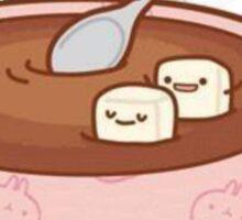 Kawaii Hot Cocoa Sticker