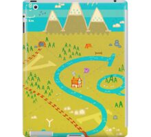 Font Mountains iPad Case/Skin