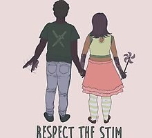 Respect the Stim - cute couple  by Inkanddaggers
