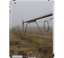 Barbed Wire Fog iPad Case/Skin