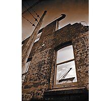 Old brick facade (duotone) Photographic Print