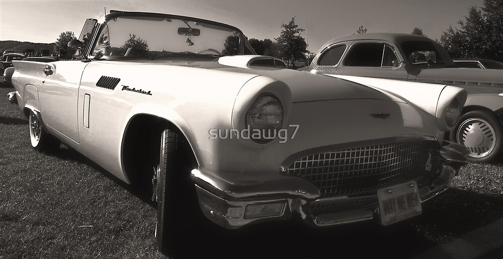 1957 T-Bird by sundawg7