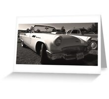1957 T-Bird Greeting Card