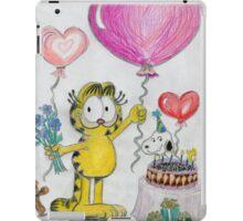 A Garfield Birthday iPad Case/Skin