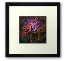 When The Stars Are Right - The Eagle Nebula in Serpens Framed Print