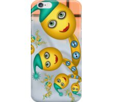 Inner Child - Bananas Outside in the Snow iPhone Case/Skin