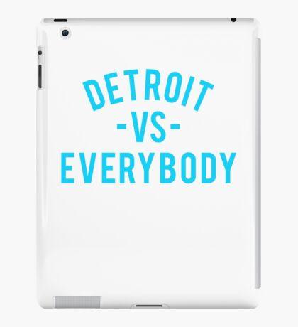 Detroit VS Everybody | Cyan iPad Case/Skin