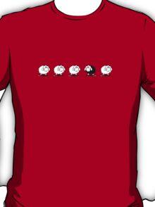 Black Sheep Design Bedspread Duvet - Rebel T-Shirt Sticker T-Shirt