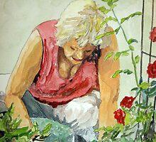The Gardener by Jim Phillips