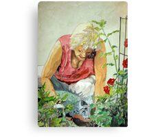 The Gardener Canvas Print