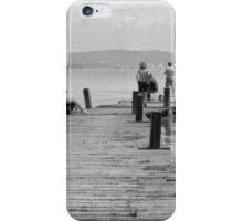 Life on the Boardwalk, Lago Trasimeno, Umbria, Italy iPhone Case/Skin