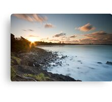Day's Ending Canvas Print