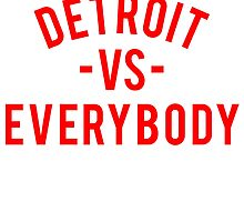 Detroit VS Everybody | Red by OGedits