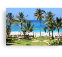 Isla Mujeres Beach Mexico Canvas Print