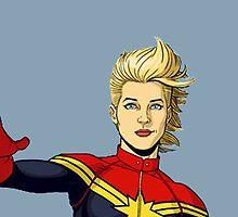 Captain Danvers by brooklynbarnes