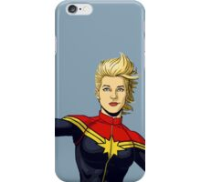 Captain Danvers iPhone Case/Skin