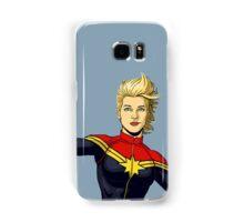 Captain Danvers Samsung Galaxy Case/Skin