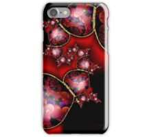 Red Printed Beads Passion iPhone Case/Skin