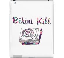 Floral Bikini Kill Design iPad Case/Skin