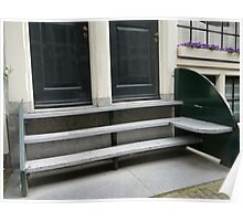 Stoop bench prototype Poster