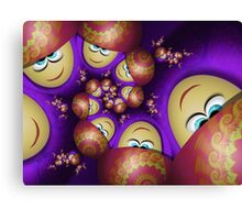 Inner Child - Goofy Girls With Fancy Hats Canvas Print
