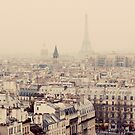 paris rooftops by etoile