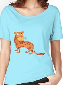 Cute baby leopard Women's Relaxed Fit T-Shirt