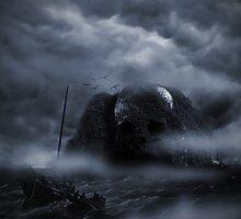 Attack on Skull Island by blacknight