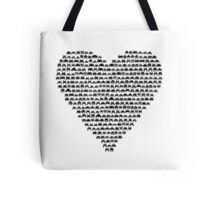 Heart Invader - Space Tote Bag