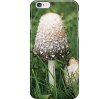 Shaggy Ink Cap (Coprinus comatus) iPhone Case/Skin