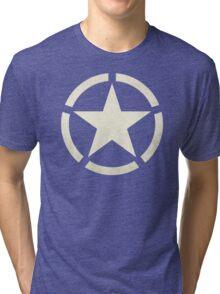 US Tanker Vintage Star Tri-blend T-Shirt