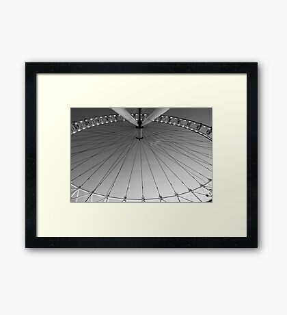 eye round the Eye Framed Print