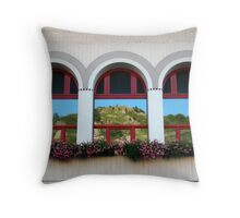 m's Reflection Throw Pillow