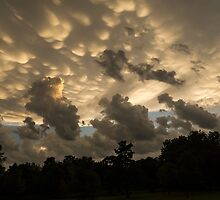 Furious Sky - Mammatus Clouds After a Storm by Georgia Mizuleva