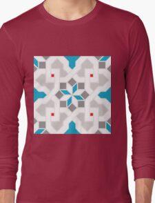 Oriental Pattern - Geometric Design Pt.6 Long Sleeve T-Shirt