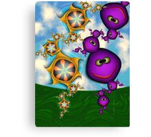 Inner Child - Eat your Fruits and Vegetables Canvas Print