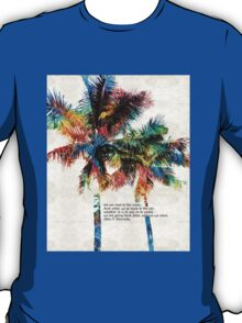 Colorful Palm Trees - Returning Home - By Sharon Cummings T-Shirt