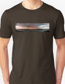 Wellington Skyscape (Rainbow, Evening light) Unisex T-Shirt