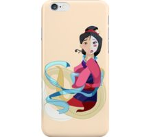 Mulan: Reflection iPhone Case/Skin