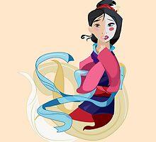 Mulan: Reflection by Minette Wasserman