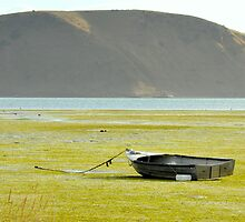 Lonely boat by mike99