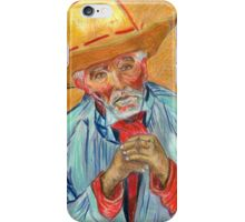 Study of Old Pesant  iPhone Case/Skin