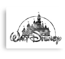 Disney Logo Canvas Print
