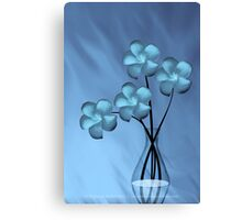 Zeus Blue Canvas Print