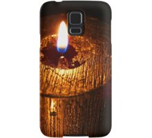 Single Flame Samsung Galaxy Case/Skin