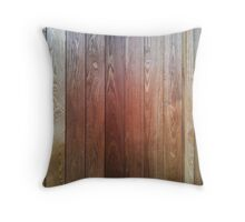 Woodwork Grain Throw Pillow