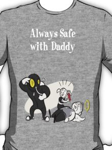 BioShock - Always Safe With Daddy Poster (White) T-Shirt