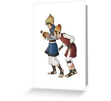 Power Cell Greeting Card