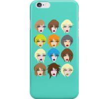 Twelve ladies of fashion iPhone Case/Skin