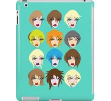 Twelve ladies of fashion iPad Case/Skin